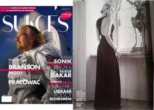 Suknia wieczorowa NIKONOROV, sesja w magazynie SUKCES