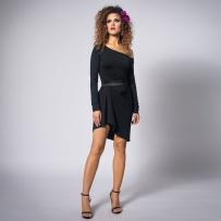 czarna-asymetryczna-sukienka
